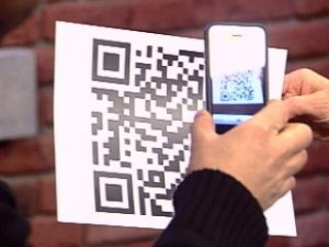 scanning qr code with an iPhone
